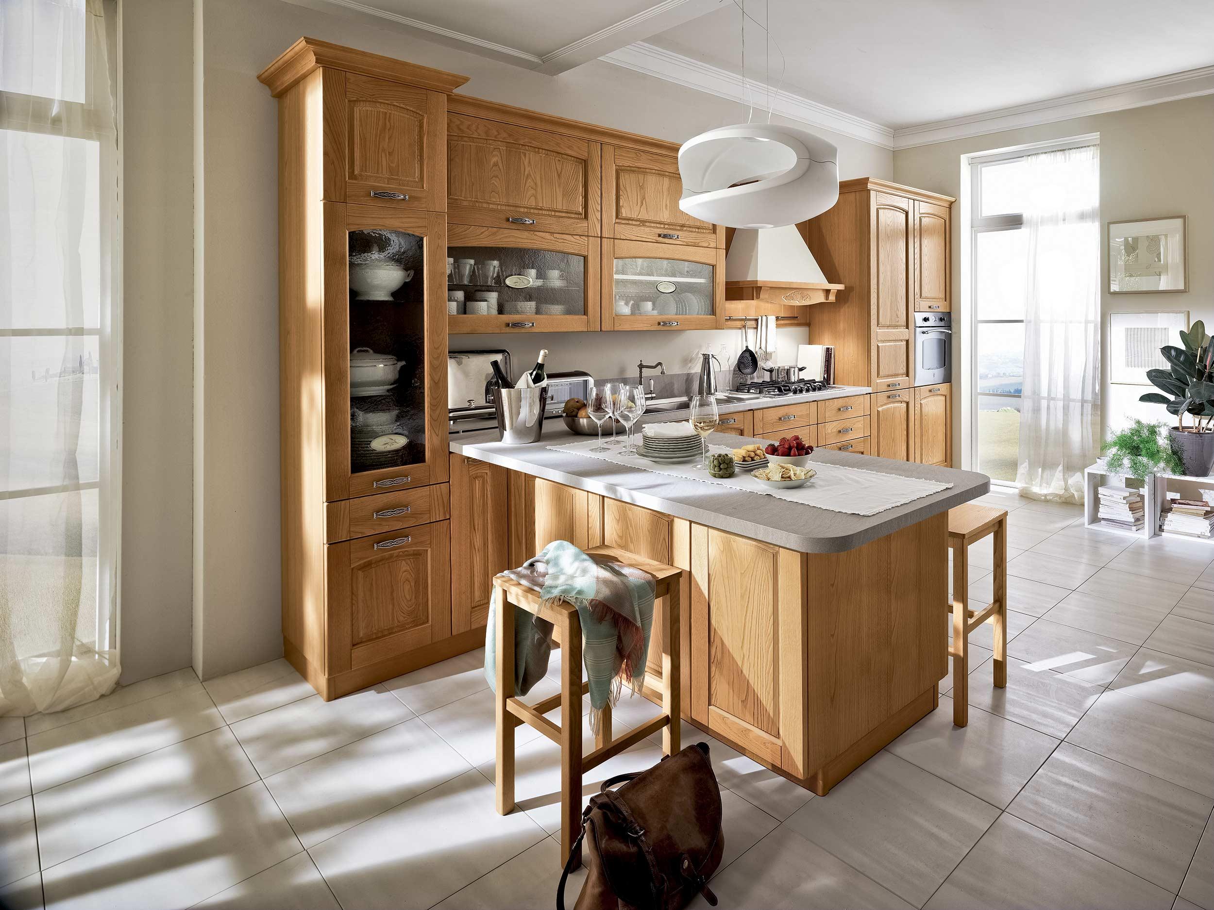 Cucine Classiche #6E4725 2500 1875 Arredamenti Di Cucine Classiche